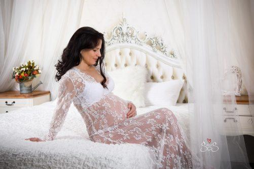 těhotenské foto, ateliér I5A8021