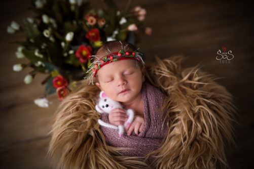 newborn focení, ateliér, Klatovy